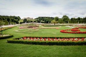 Viena - Schonbrunn Garden