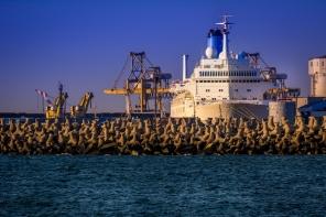 In asteptare in portul Constanta