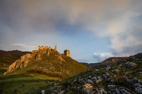 Cetatea Rimetea la rasarit