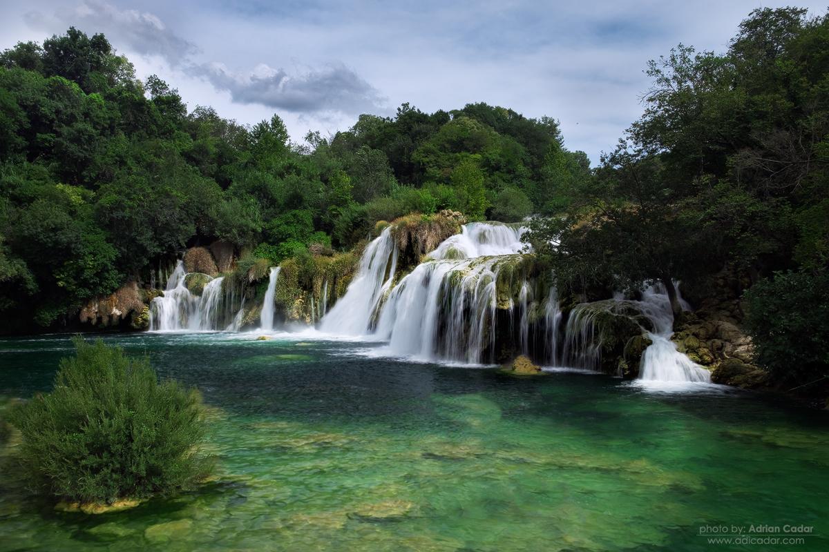 Waterfall, Krka national Park, Croatia