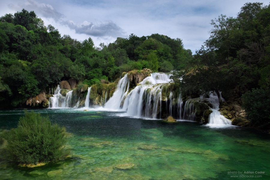 Waterfall, Krka national Park, Croatia