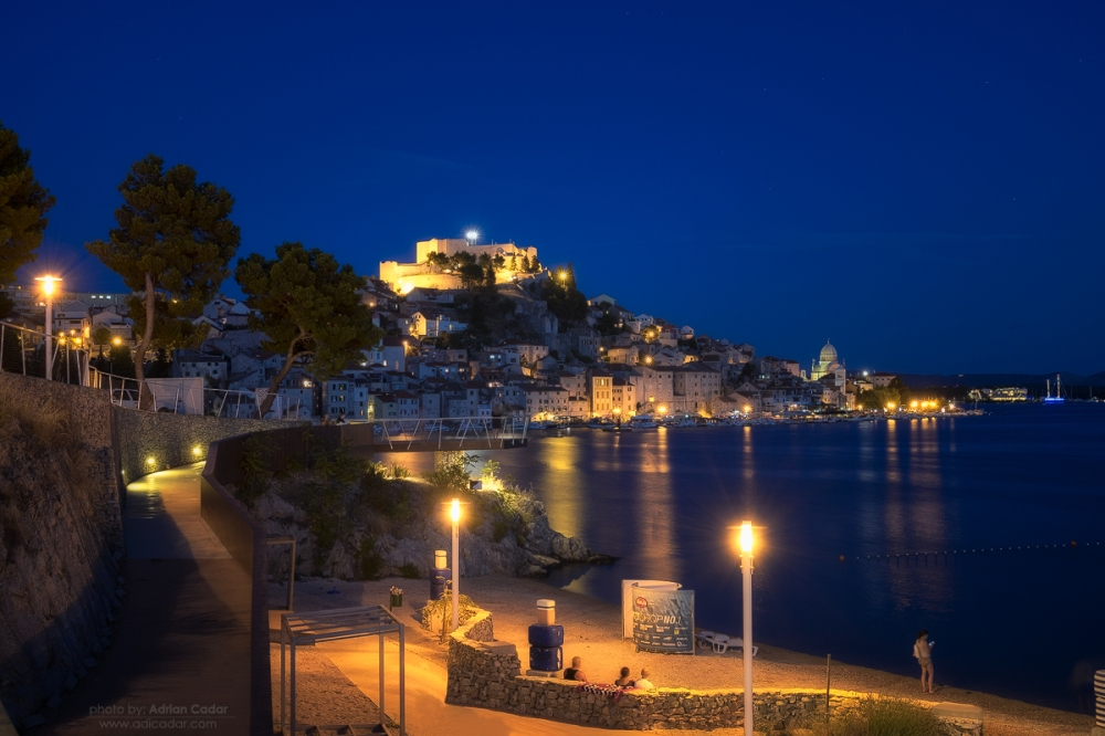 Sibenik by Night, Croatia