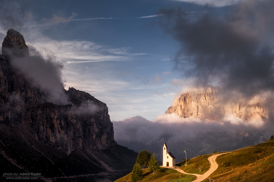 Church in Dolomiti