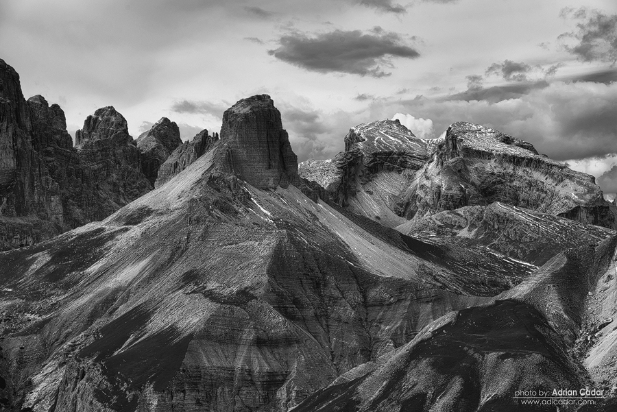 Shapes of the mountain